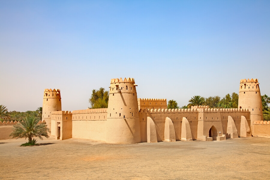 Al Jahili Fort in historic Al Ain