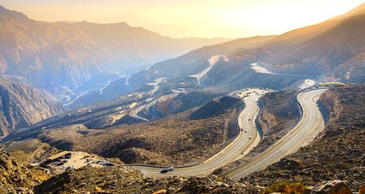RAK - Road up Jebel Jais