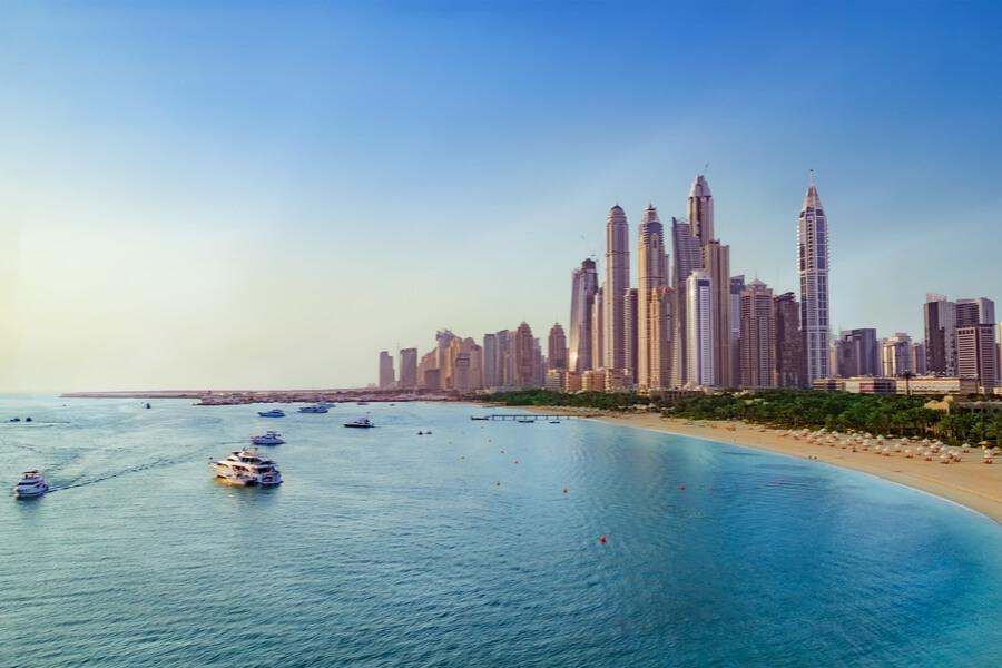 view of JBR in Dubai