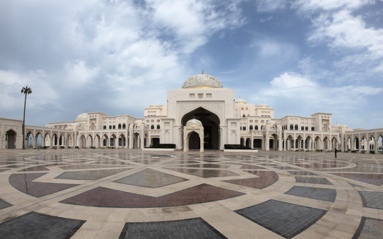 Qasr al Watan the Presidential Palace of the United Arab Emirates