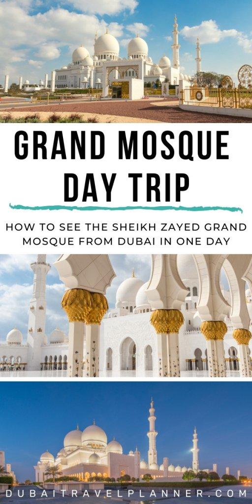 Grand Mosque Abu Dhabi Day Trip