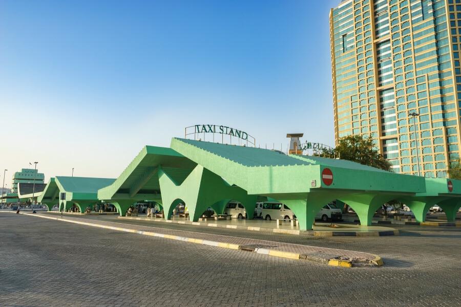 Abu Dhabi Central Bus Station in Al Wadha