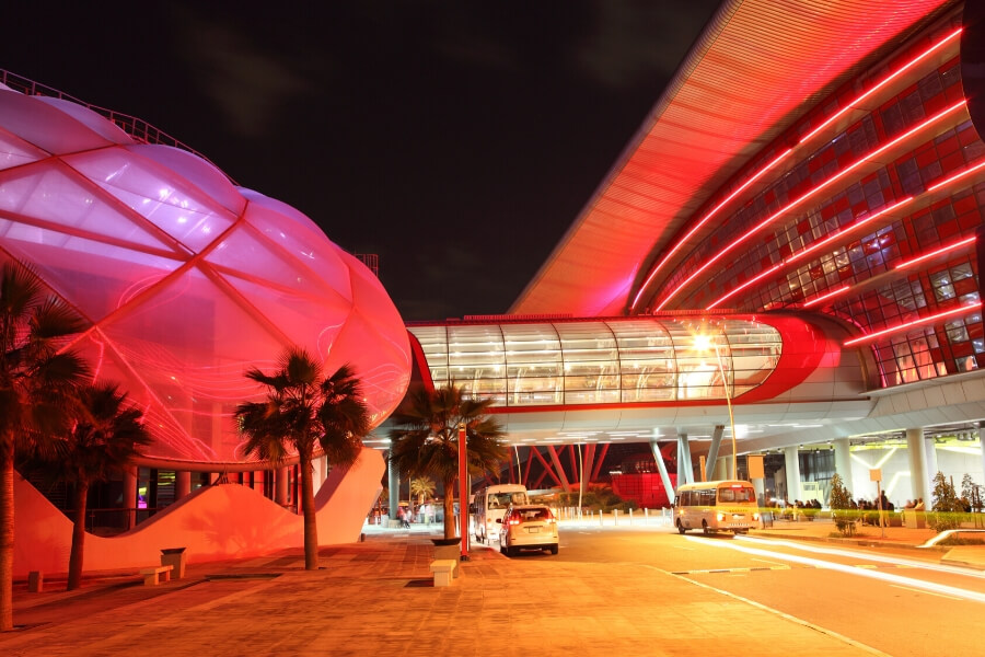 Yas Island Ferrari World Entrance Yas Express Bus
