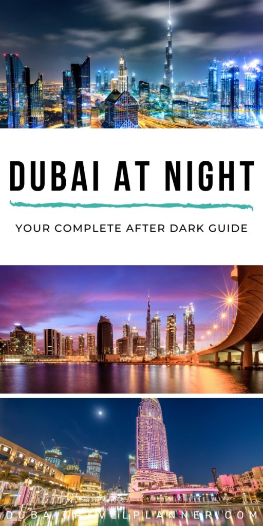 Dubai at Night'Most bauitful Dubai Locations to enjoy at Night