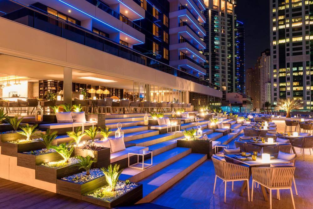 Siddharta Rooftop Bar Grosvenor House Dubai Marina