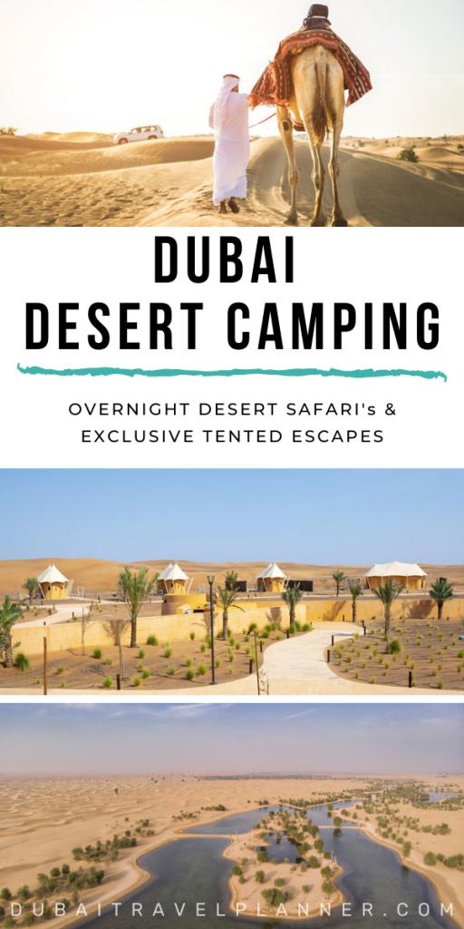 Dubai Desert Camping Guide