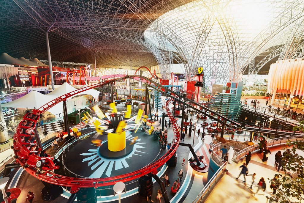 Ferrari World on Yas Island