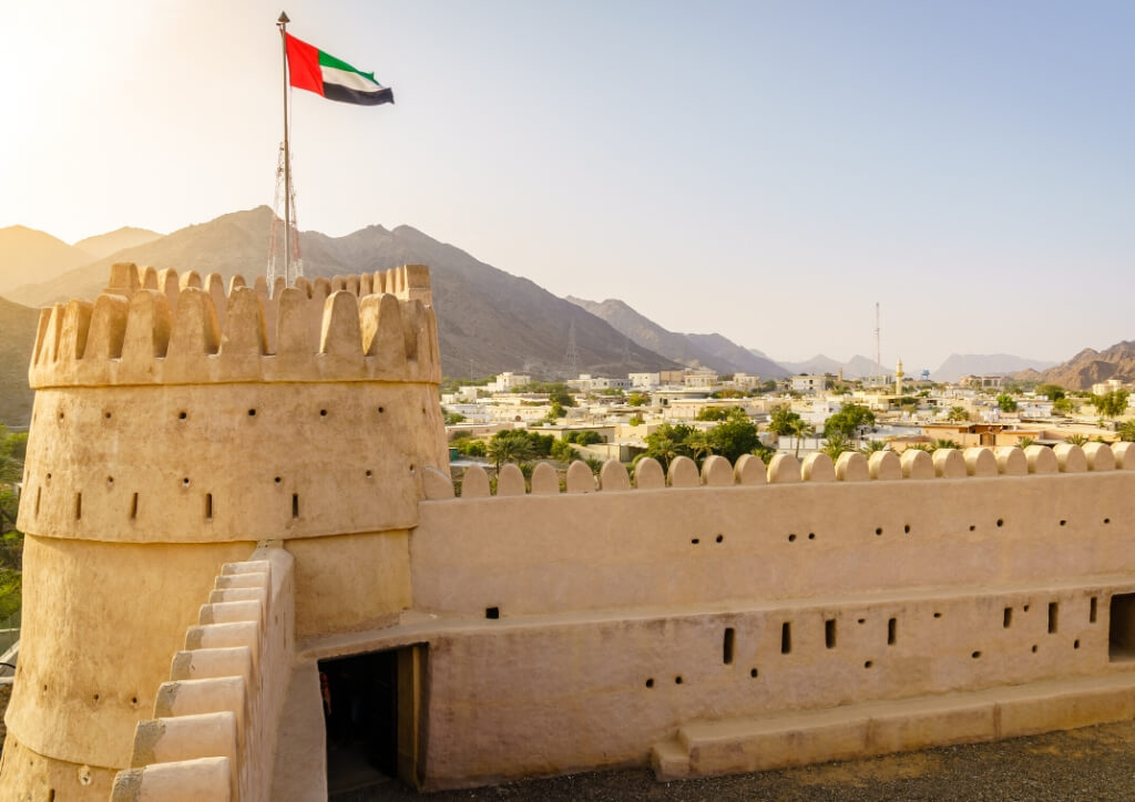 Fujairah Fort - Day Trip from Dubai