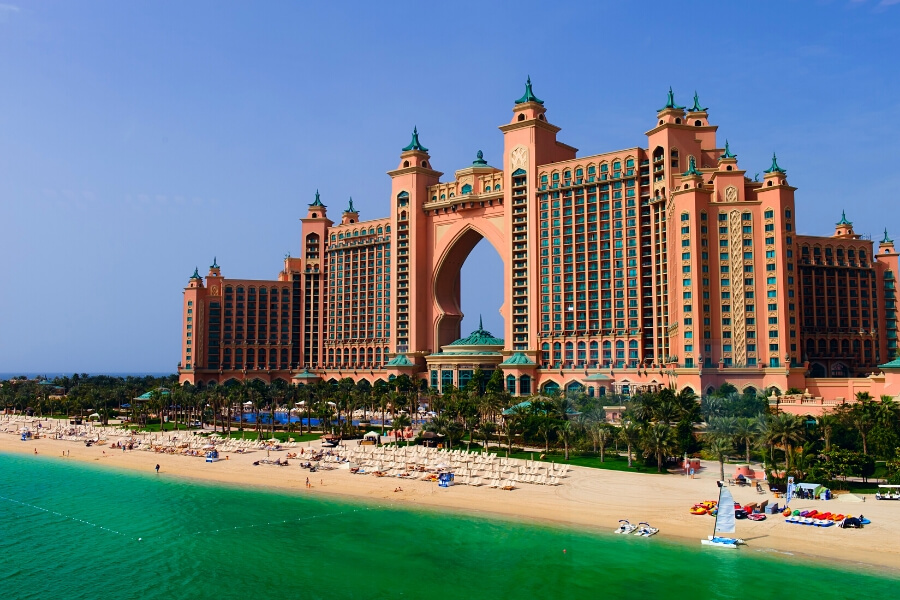 Atlantis the Pal, stunning resort hotel on Palm Jumeirah Dubai
