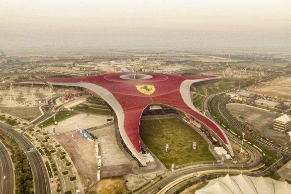 Ferrari World on Yas Island Abu Dhabi