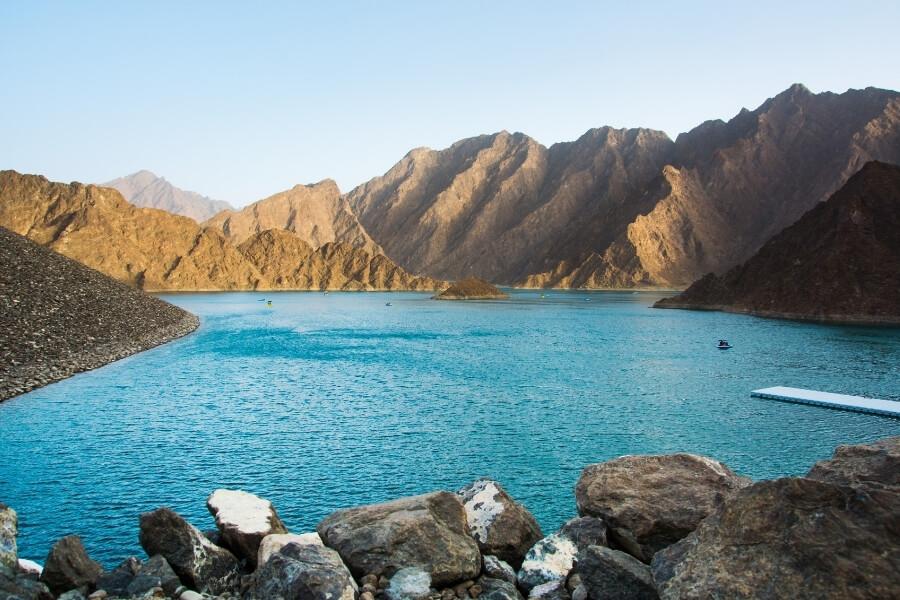lake in hatta Dubai