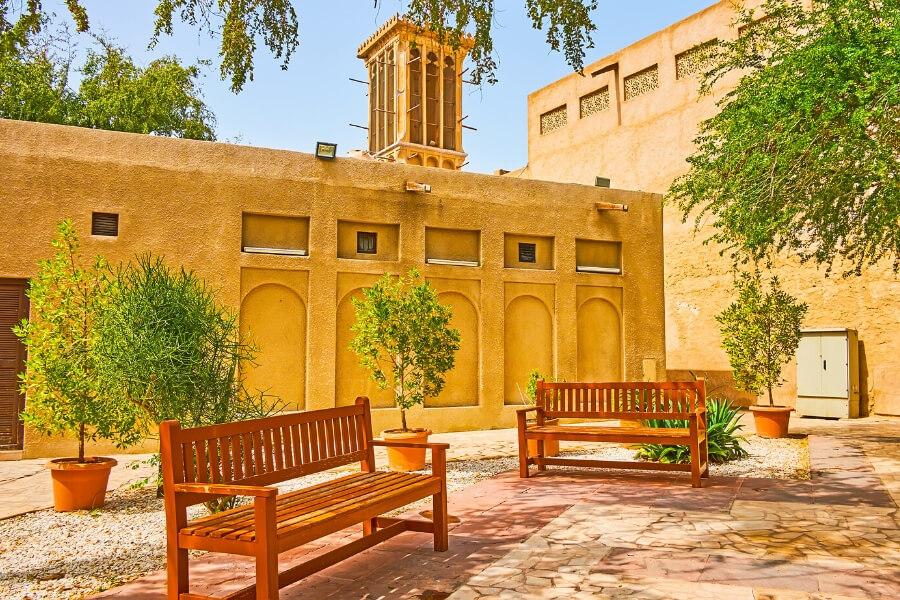 beautiful corner in Al Fahidi Historical Neighbourhood Dubai