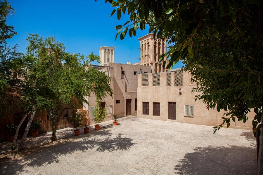 A quiet corner in Al Fahidi Historical Neighbourhood Dubai