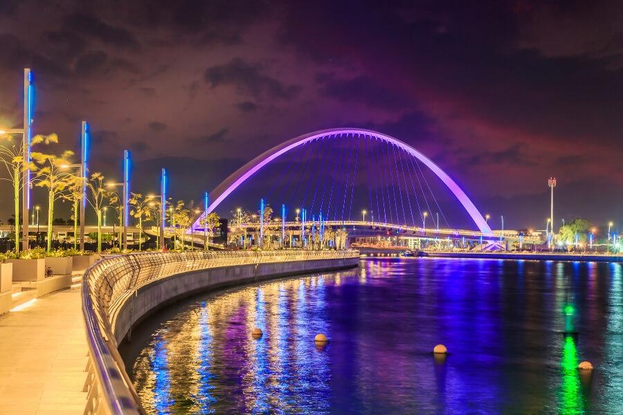 Dubai Canal Boardwalk