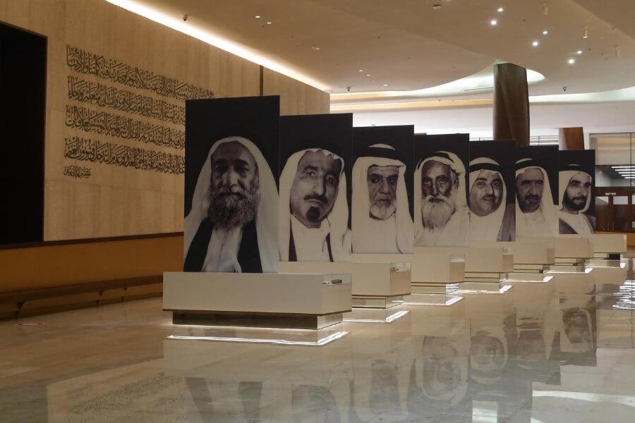 Inside Etihad Museum Dubai