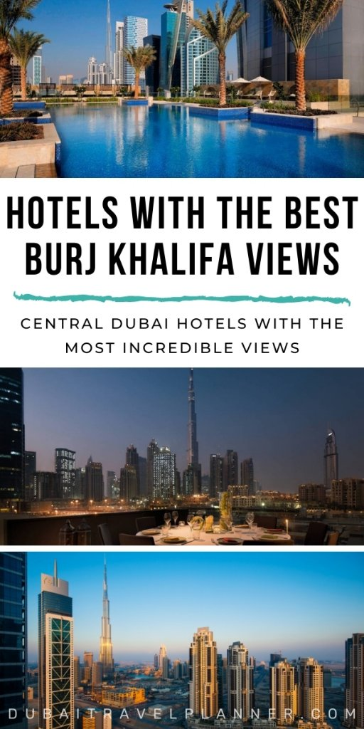 Hotels with the best views of Burj Khalifa