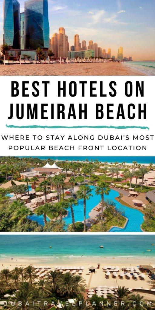 Best Hotels on Jumeirah Beach
