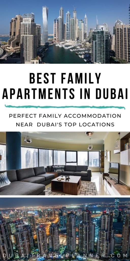 Best Family Apartments in Dubai for short term holiday rentals