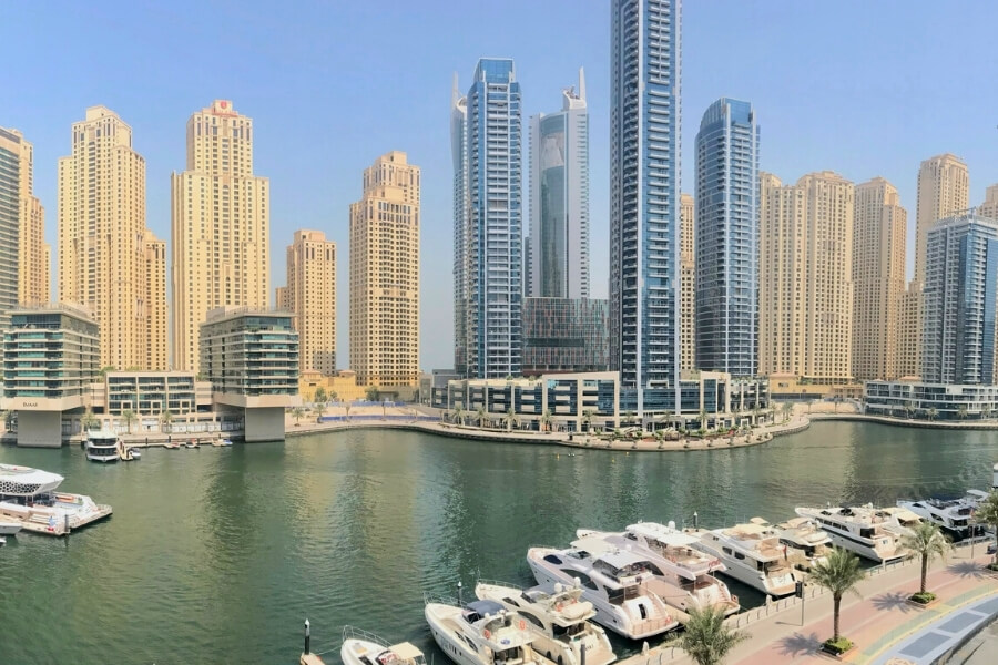 Apsrtment and AirBnB accommodation in Dubai Marina
