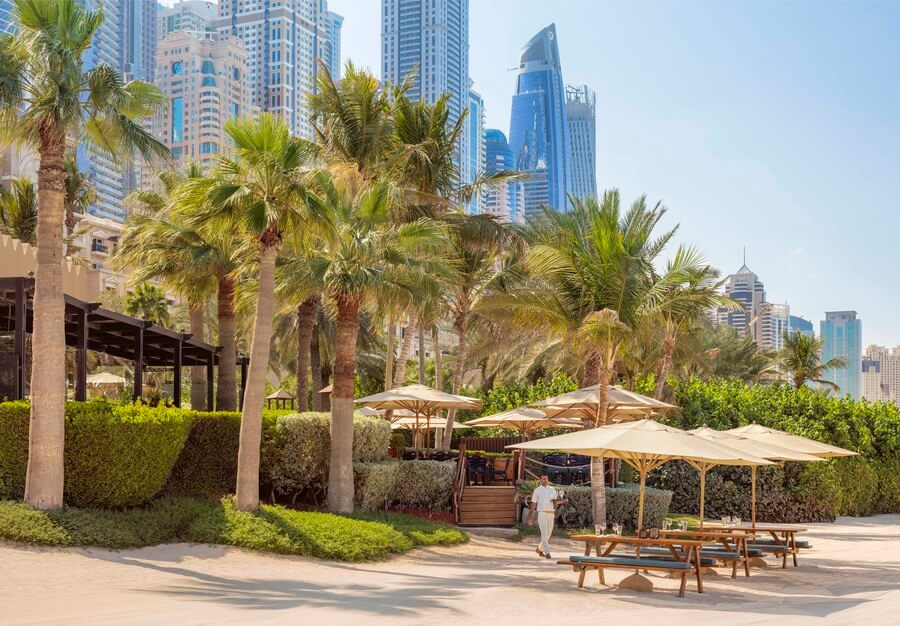 One & Only Royal Mirage beach front in JBR Dubai