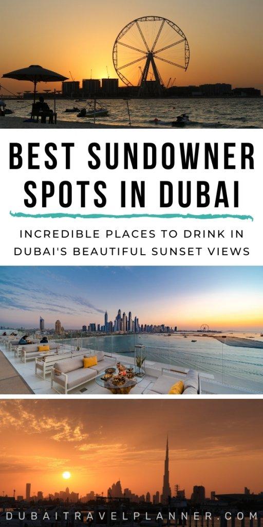 Best sundowner spots in Dubai
