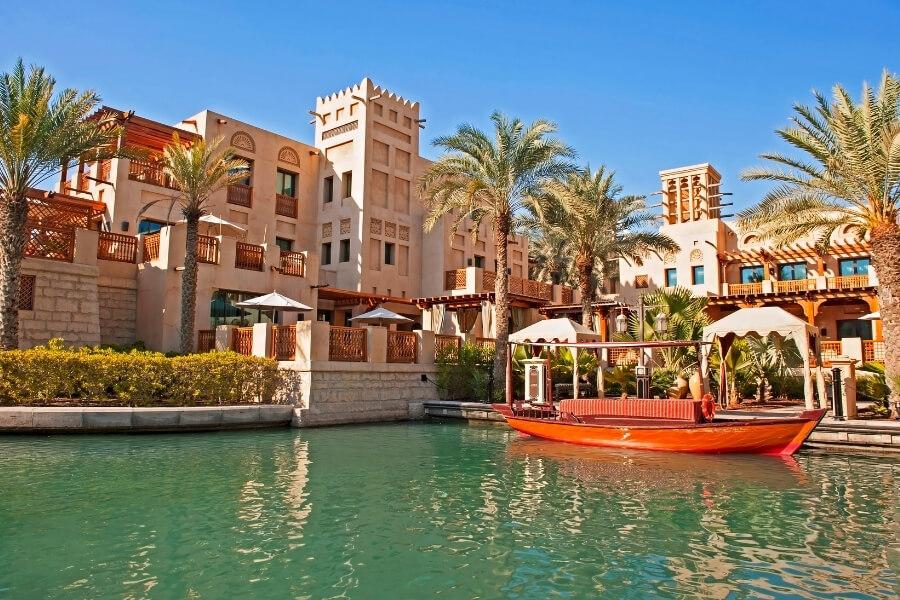 Abras in Souk Mainat Jumeirah Dubai