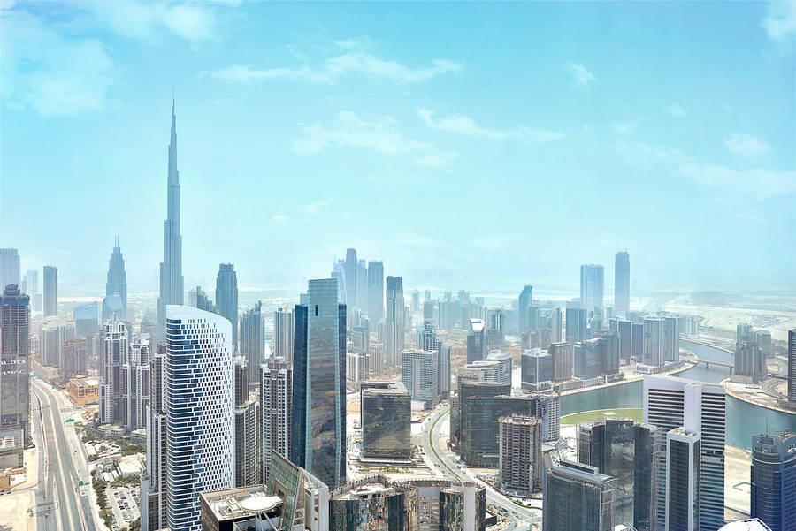 JW Marriott Marquis Dubai Views of Burj Khalifa