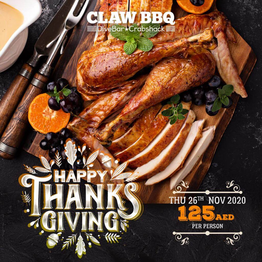 Thanksgiving at Claw 2020