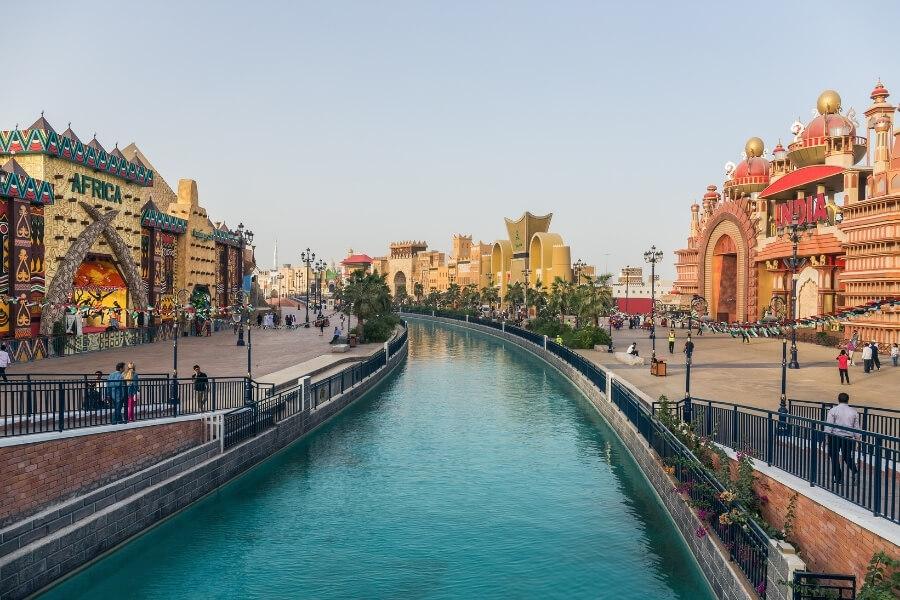 Inside Dubai Global Village