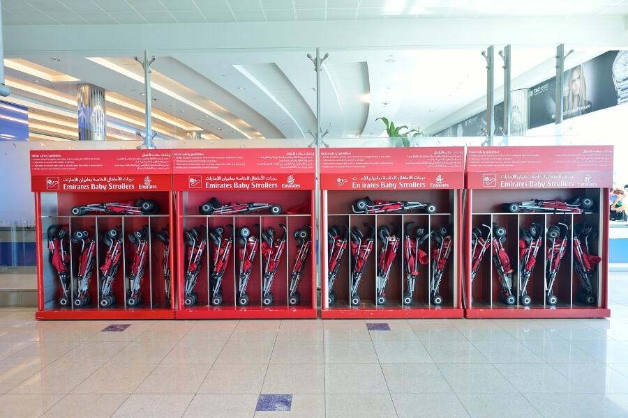 Dubai Airport Stroller