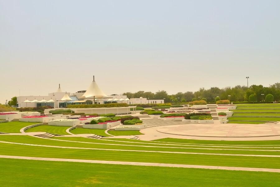 Amphitheatre inside Al Mamzar Beach park