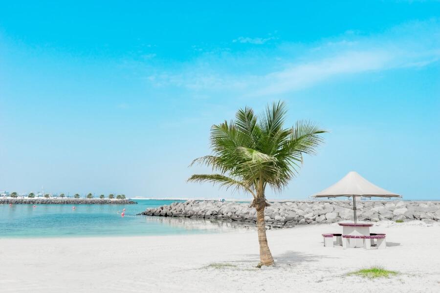 Al Mamzar beach