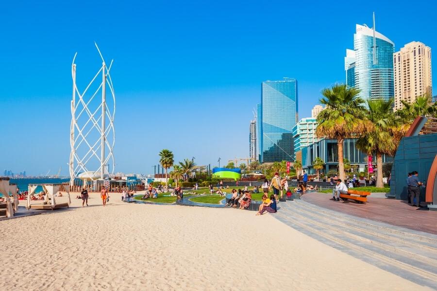 Dubai JBR The Beach Splash Pad