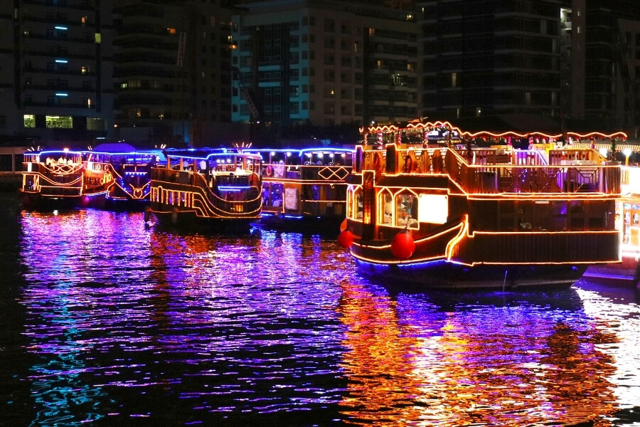 Dreamy Dhow Cruise experiences in Dubai