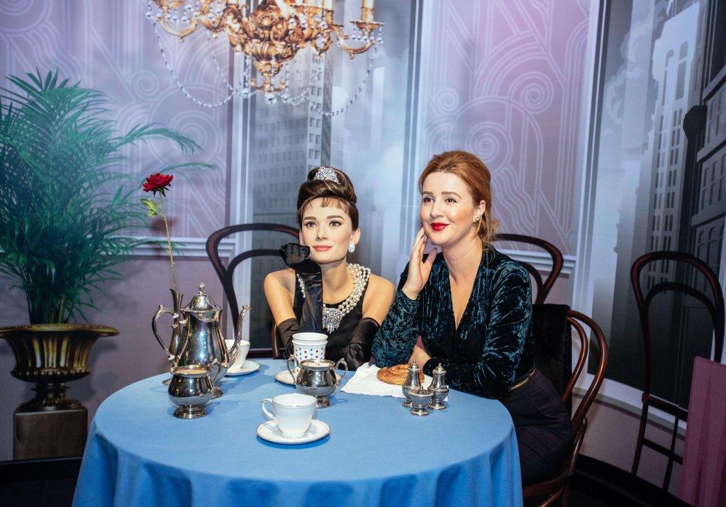 Audrey Hepburn at Madame Tussauds Dubai