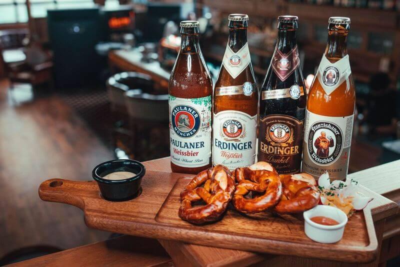 Germany Beers at Fox & Glove Soho Garden